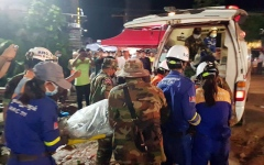 Photo: 'No more survivors' in Cambodia building collapse as toll hits 24