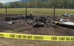 Photo: Feds probe 'quality' of repairs on plane in Hawaii crash