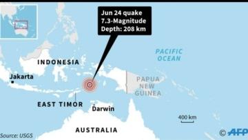 Photo: Powerful Indonesian quake felt in Australia