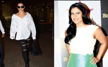 Photo: No selfies for Deepika; no pics for Kajol