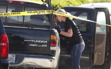Photo: Gunman killed 4, self over jealousy of in-laws