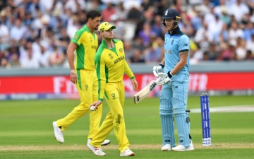 Photo: England's Ben Stokes issues World Cup rallying cry after defeat to Australia