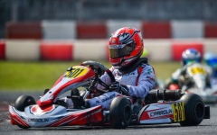 Photo: Young UAE karting star Rashid Al Dhaheri achieves podium finish in Lonato, Italy
