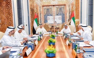 Photo: Hamdan bin Rashid chairs regular meeting of 'Financial and Economic Committee'