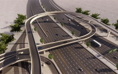 Photo: Nakheel invests Dh114m in Al Khail Avenue's roads and bridges