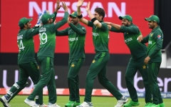 Photo: Pakistan's Shaheen destroys New Zealand top order in World Cup clash