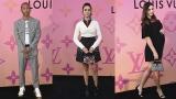 Photo: Louis Vuitton exhibition opening: Nina Dobrev, Miranda Kerr, Jaden Smith...