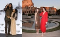 Photo: Fendi's Fall-Winter 2019-2020 show: Catherine Zeta-Jones, Carys Douglas, Jason Momoa...