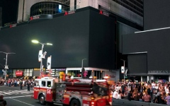 Photo: New York City power restored after massive blackout