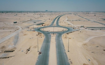 Photo: 83.6% of Emirati Neighbourhood Infrastructure Project completed