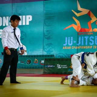 Photo: UAE Falcons out to soar at 4th Jiu-Jitsu Asian Championship