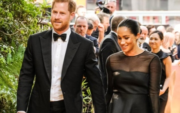 Photo: The Duke and Duchess of Sussex's son Archie gifted toy Simba