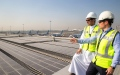 Photo: DXB installs region's largest airport solar energy system