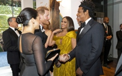 Photo: 'The Lion King' London premiere brings out Meghan Markle and Beyonce