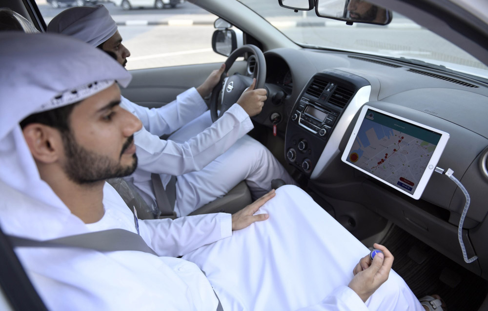 Photo: RTA lunches trials of 'Smart Track System' for testing drivers