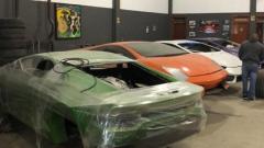 Photo: Phony Ferraris, 'Shamborghinis' seized at Brazil factory