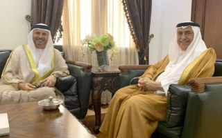 Photo: Saudi Foreign Minister receives Gargash in Jeddah