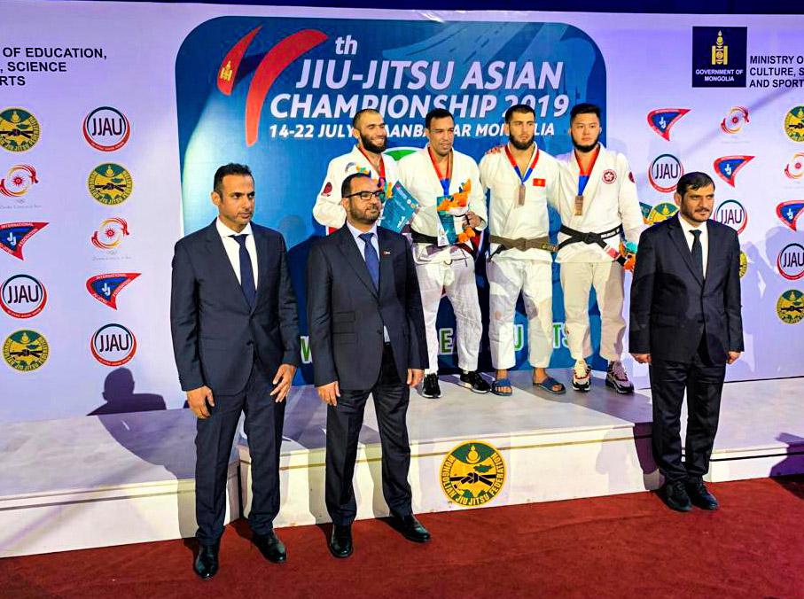 UAE Falcons claim four medals on day one of Jiu-Jitsu Asian Championship