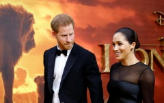 Photo: Prince Harry and Duchess Meghan unveil foundation name