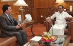 Photo: UAE Ambassador to India meets with Minister of State for Foreign Affairs