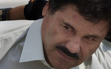 Photo: El Chapo was whisked away within hours of sentencing