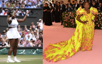 Photo: Serena Williams isn't bothered by critics