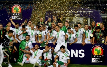 Photo: Algeria sink Senegal to claim 'incredible' second African crown