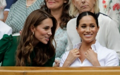 Photo: Duchess Catherine and Meghan getting on well