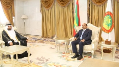 Photo: President of Mauritania receives credentials of UAE Ambassador