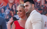 Photo: Britney Spears and Sam Asghari make red carpet debut