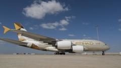 Photo: Etihad Airways suspends all flights from UAE
