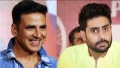 Photo: How Akshay stole the Bachchan from Abhishek?
