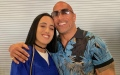 Photo: Dwayne Johnson 'excited' to see eldest daughter go to college