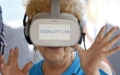 Photo: US seniors fulfill dreams, fight depression with virtual reality