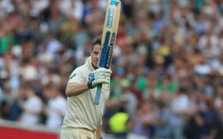 Photo: 'Like Christmas every day': Double ton Smith revels in 'dream' Test return