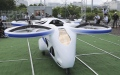 Photo: Japan's NEC shows 'flying car' hovering steadily for minute