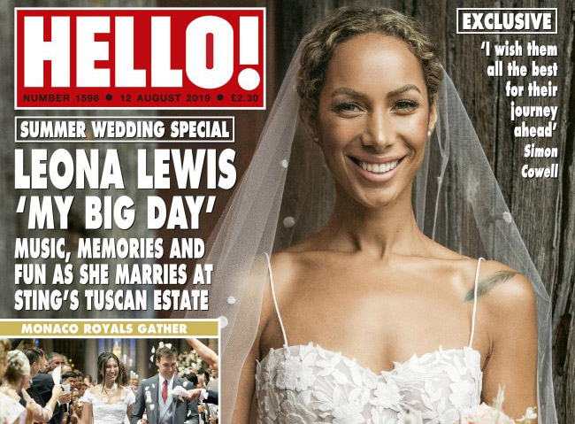 Simon Cowell Wished Leona Lewis All The Best On Her Wedding Day Entertainment Emirates24 7