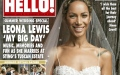 Photo: Simon Cowell wished Leona Lewis 'all the best' on her wedding day