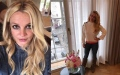 Photo: Britney Spears credits yoga for her 'strength'