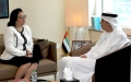 Photo: UAE official meets with Philippine Ambassador