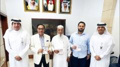 Photo: Three Bangladeshi businessmen awarded UAE Gold Visa