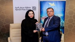 Photo: Ajman Free Zone signs MoU with Dubai Insurance Company