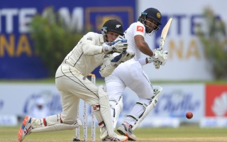 Photo: Sri Lanka reach 143 for 3 against New Zealand at tea