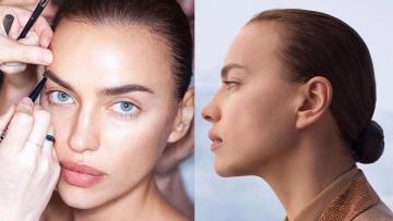 Photo: Irina Shayk's relaxed beauty regime