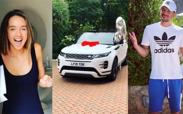 Photo: Peter Andre gives wife Emily £40k car for birthday