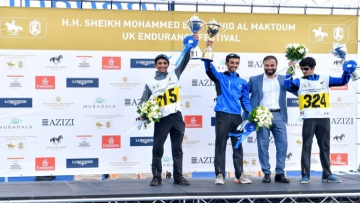 Photo: Emirati riders dominate Sheikh Mohammed bin Rashid Al Maktoum Endurance Cup Festival UK Endurance Masters