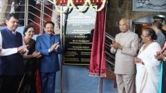 Photo: Indian president inaugurates Bunker Museum in Mumbai