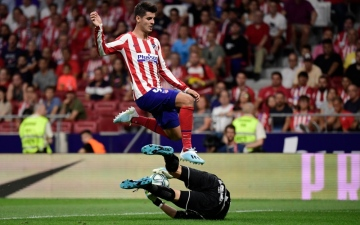 Photo: Trippier and Morata combine to give Atletico winning start