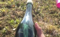 Photo: Alaska man discovers message in bottle from Russian Navy