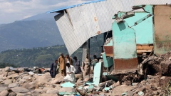 Photo: Mudslide in Pakistani-administered Kashmir kills 7